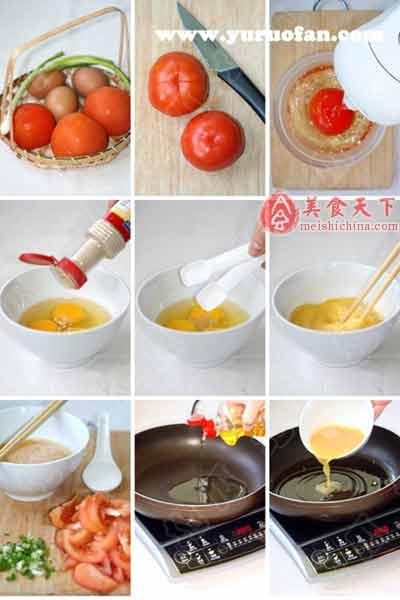 西红柿与蛋的故事,哈