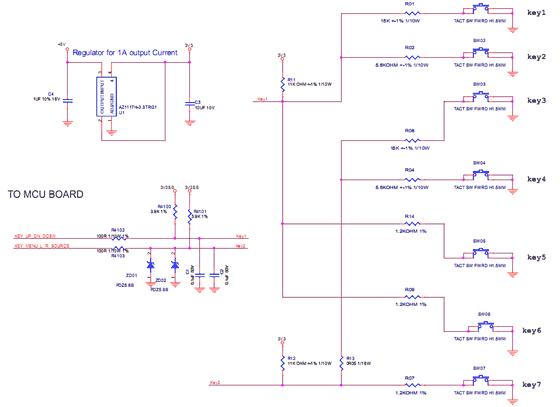 KEY BOARD电阻值计算器