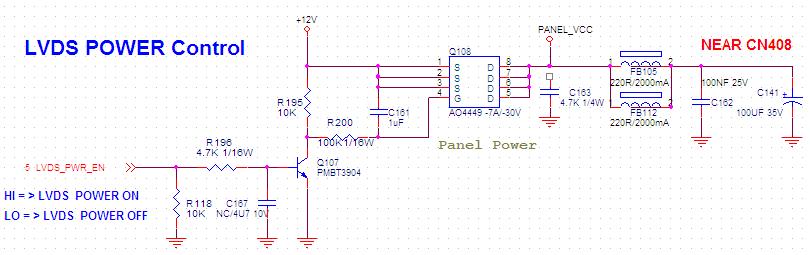 r196与c167组成rc 积分电路